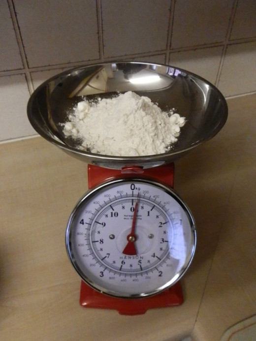 3 oz self raising flour