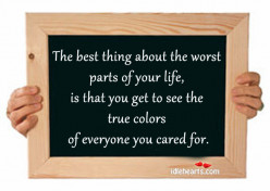 What is the best thing about your life?