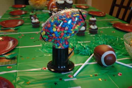 Football Candy Dispenser!