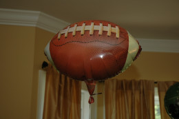 Mylar Football Balloon