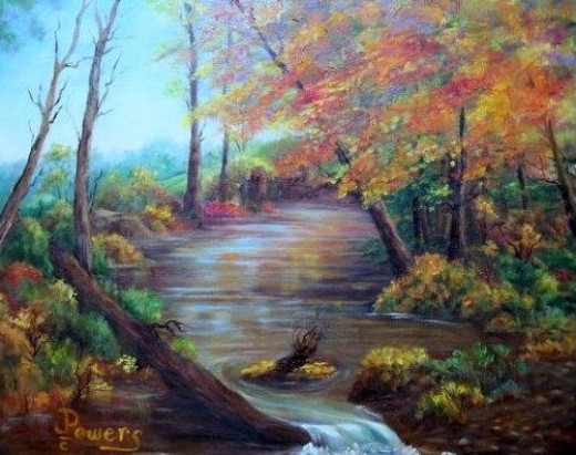 Autumn Creek by Jean Powers(Muller)