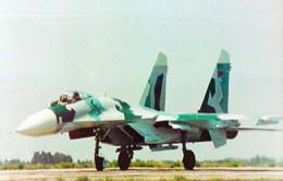 A SU-27 in Eritrea
