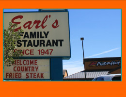 Earl's in Gallup NM next to a Pizza Hut Franchise