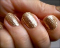 The Prettiest Gold Glitter Nail Polishes - A Comparison of Shades and Brands