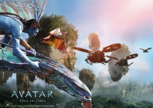 Avatar (2009) Spanish poster