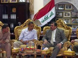 Obama meeting General David Petraeus