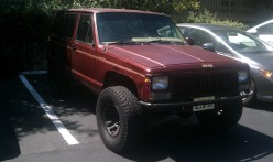 This was my son's 91 Jeep.  I borrowed it without permission and wrecked it.
