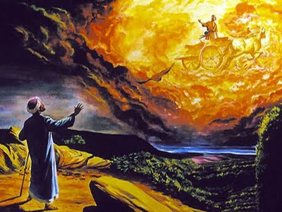 Senior prophet Elijah was preparing to be taken away into heaven and his student Elisha followed him to this supernatural occasion on the chariot of fire ( Photo Credit:http://getjuicedup.wordpress.com/)