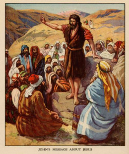 John, the Baptist -Jesus's cousin (Photo Credit: http://www.concordianews.org/kids/2010/1001-john.htm)