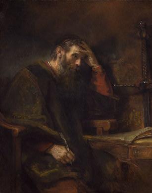 Prophet Paul by Rembrandt(Photo Credit: http://www.worldslastchance.com/)