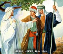 James & John, sons of Zebedee with Jesus (Photo Credit:http://enzocortes.com/2011/05/)