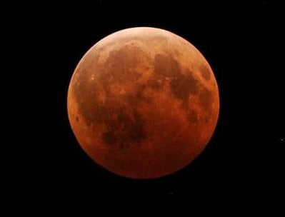 This blood red Moon photo I have had for some time and am not sure of the source, however I do know it was taken within the last four years.
