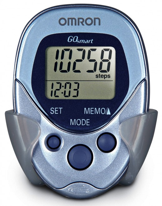 Pedometer are great for monitoring your pace and help you find your ideal pace