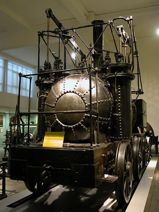 """Puffing Billy"" is the world's oldest surviving steam locomotive."
