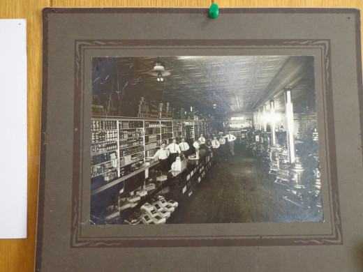 Chaplin, Saskatchewan General Store, early 1900's.