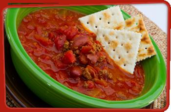 Chilli soup (West Virginia)