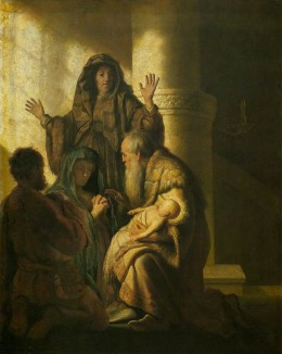 Simeon and Anna recognize the Lord Jesus