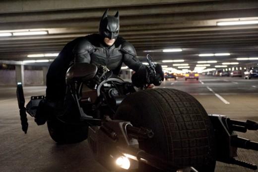 Screen Shot of Batman in The Dark Knight Rises