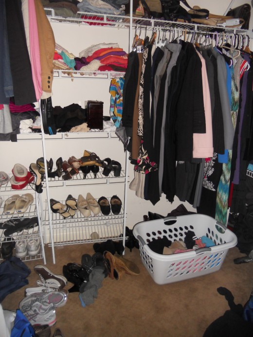 An full closet may not lead to happiness