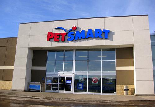 PetSmart: a welcoming sight!