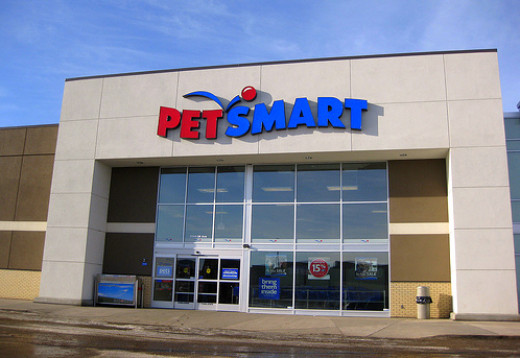 PetSmart: a welcoming sight!