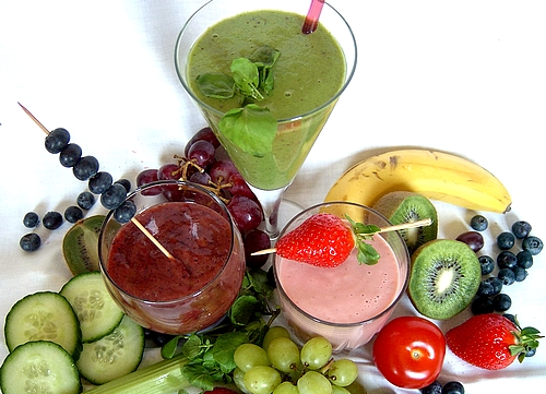 Fruit smoothies are very popular, but you can also make delicious and nutritious smoothies from a variety of other foods.
