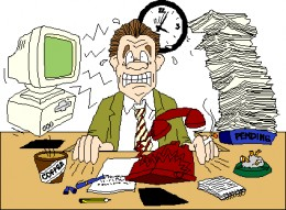 There are many causes of stress overload
