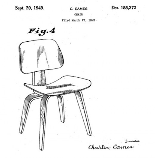 The design protected by the D'272 patent.