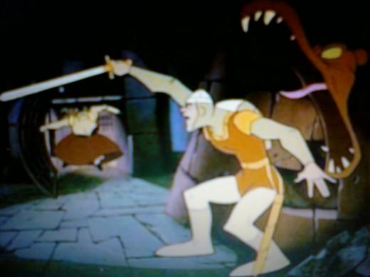 Dragon's Lair's Dirk The Daring