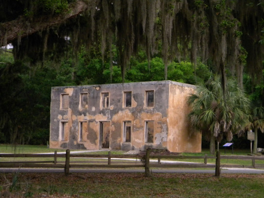 Home of William Horton, first Jekyll colonist and Oglethorpe aide.