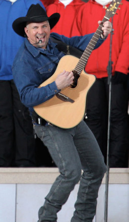 The amazingly talented musician and singer, Garth Brooks.