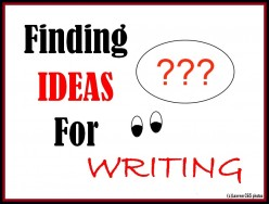 It is not difficult to find ideas for writing. You have to pay attention and concentrate on the happenings or things around you that may prove helpful for finding the right kind of topic that you look for writing.