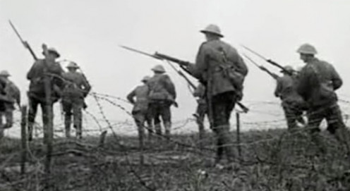 Bayonet Charge.