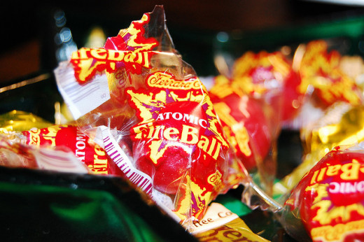 loved Atomic Fireballs. These candies were HOT, friends. But Janet loved me for giving them to her everyday.