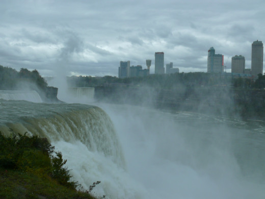 Niagra in full flow - amazing!