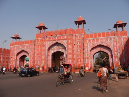 The iconic Jaipur Gate
