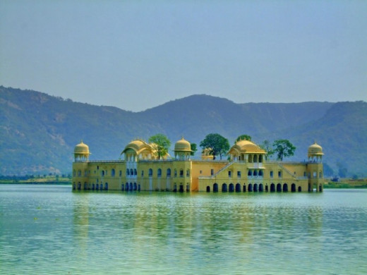 The Scenic Jal Mahal