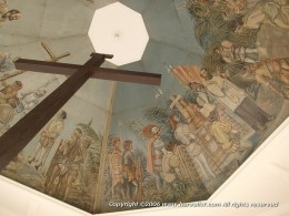 A picture of Magellan's cross in Cebu, Philippines.