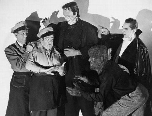 Abbott and Costello Meet Frankenstein (1948) Publicity Still