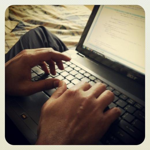 A Programmer at work !!!