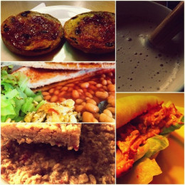 Foods prepared in the kitchen this week