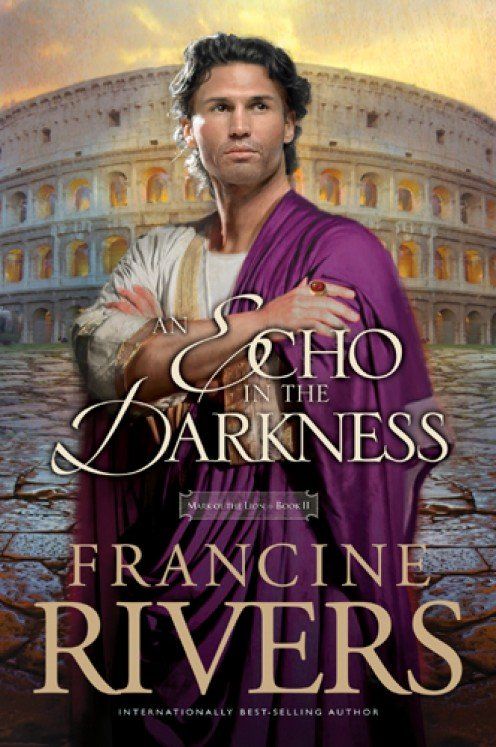 The cover of An Echo In The Darkness - The artist's illustration of Marcus Valerian, Roman citizen