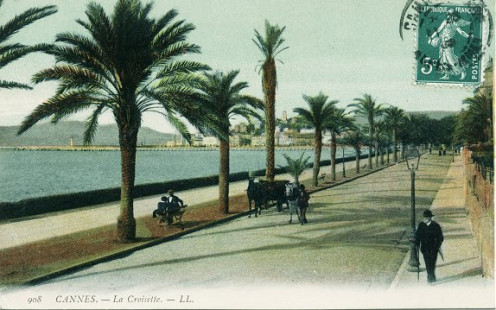 La Croisette, Cannes, circa 1910