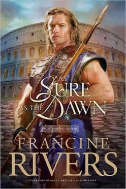 The cover of 'As Sure As The Dawn' the story of the German warrior Atretes.