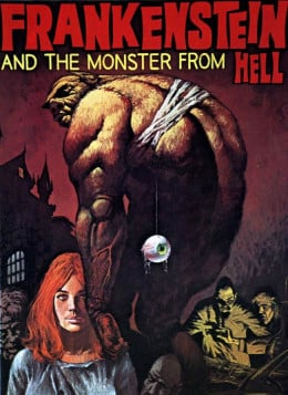 Frankenstein and the Monster from Hell (1973) poster