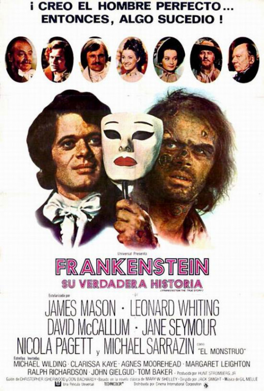 Frabkenstein The True Story (1973) poster