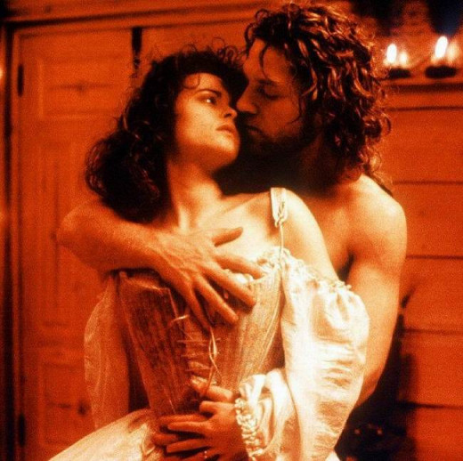 Helena Bonham Carter and Kenneth Branagh in Mary Shelley's Frankenstein (1994)