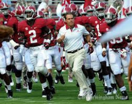 Coach Saban has Alabama looking unbeatable this season.