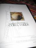 The menu at Costa Verde