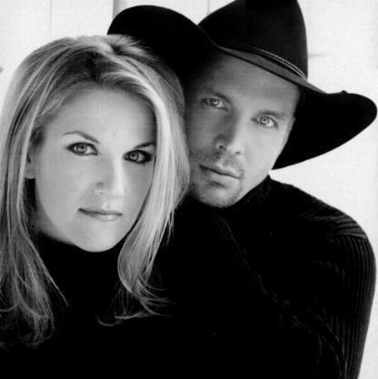 Garth and Trisha from a 2011 appearance.